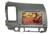 DVD-Плеер Автомобиля Для Хонда-Гражданские С GPS / Bluetooth / IPod ZZ