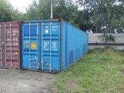 Сдам в аренду 40-тонный контейнер под  склад.