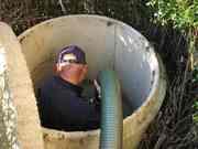 Установка септика ЖБ  под ключ, водопровод, погреб