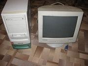 Компьютер Celeron 2.4GHz с монитором.