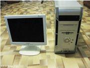 2-х ядерный компьютер с ЖК монитором.