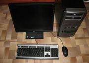 Игровой компьютер Intel E7300 с ЖК