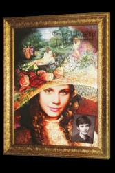 Дарите оригинальный подарок близким - портрет!