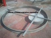 Форма для производства крышек и днищ колодца