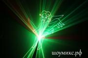 Лазерное шоу на свадьбу.