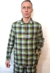 Пижамы мужские фланель оптом.