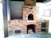 Строительство барбекю из кирпича в Краснярске.