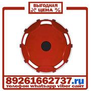 Колпаки колёсные 22.5 задние пластик бордовые в Москве