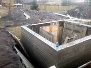 Погреб. Опалубка. Фундамент. Строительство гаража под ключ.