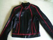 Продам кожаную куртку 42 размера