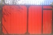Изготовление и продажа готовых ворот.