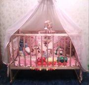 Кроватка детская в комплекте